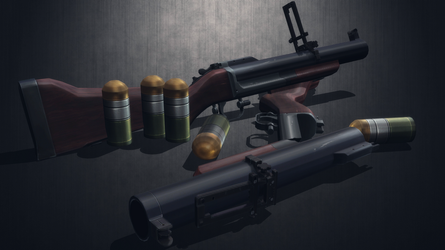 [MMD] M79 ''Thumper'' for DL by AbyssLeo