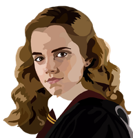 Hermione Granger Digital Painting by whovianpoprocks