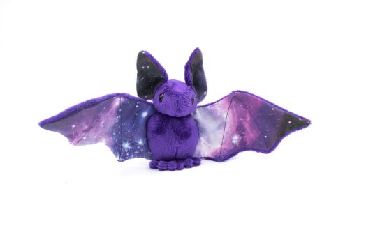Royal Purple Galaxy Bat by BeeZee-Art