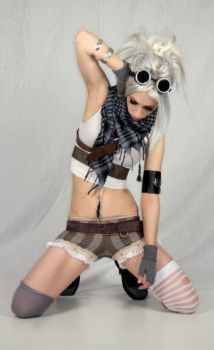 Brown Steampunk Bloomers by ByKato