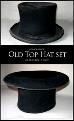Old top hat set by Azenor-stock