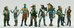 Age of Rebellion - Species by Cristi-B