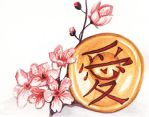 Cherry Blossoms and Gong by kgemeni