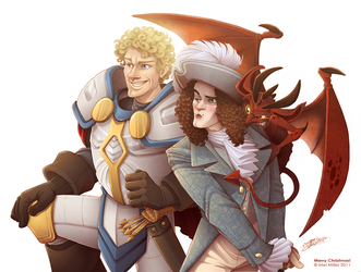 Jorzan and The Viscount by Javadoodle