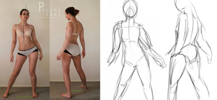 gesture drawing by jccman12