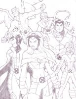 MY X-Men 09 Team B by LucasAckerman