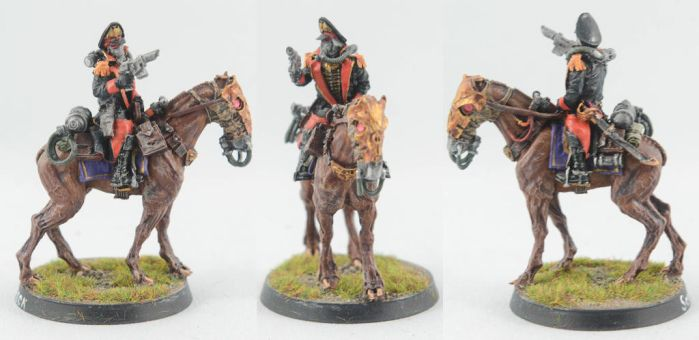 Mounted Commissar by GeneralCambronne