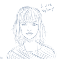Lauren Mayberry by gentlemankevs