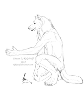 ArcticWoof Commission - 2 of 3 by KeksWolf