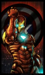 Iron Man by WinterSpectrum