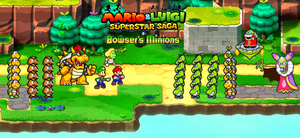 369. M and L Superstar Saga and Bowser's Minions by BeeWinter55