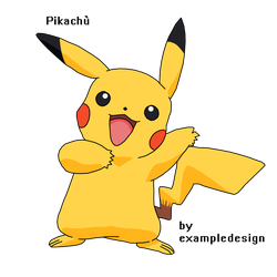 Pikachu by exampledesign
