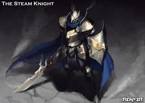 The Steam Knight by reaper78