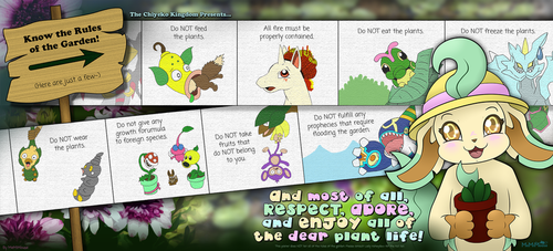 Know the Meadow Garden Rules by MeMiMouse