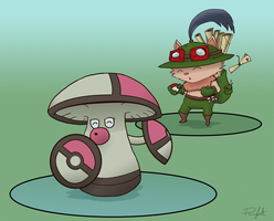 Teemo Would Like To Fight