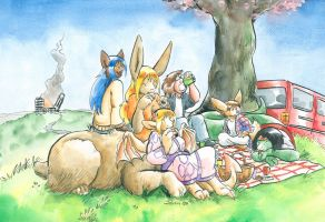 Patreon- A nice picnic by Cervelet