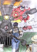 GOBOTS: souls of steam, hearts of steel parody by puticron