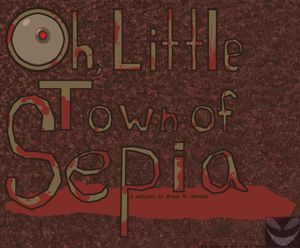 Oh, Little Town of Sepia Logo by BingFox