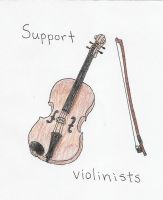 Support Violinists by Fishyness