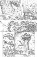 justice league 23.1 Darkseid page 03 pencil by PauloSiqueira