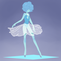 Pearls (1/3) Blue Pearl. by SpaceKeys