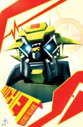 Ratchet painting poster thang by dcjosh