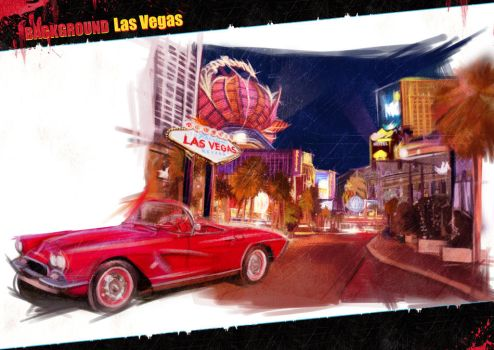 Las Vegas background by yoanndurand