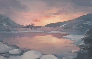 Landscape Study I by TeacupArt