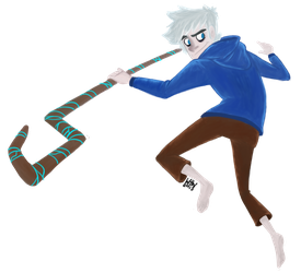 Jack Frost Doodle by water-wing