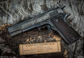 Remington UMC 1918 1911 by spaxspore