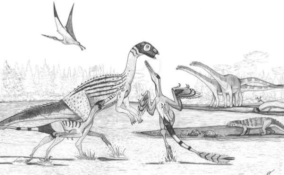Neuquen Dinosaurs by PaleoAeolos