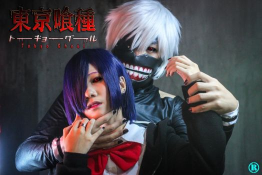 Touka X Kaneki - Dark Embrace by Hisui-Facist