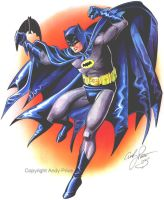 Classic West Batman by andypriceart