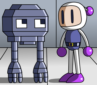 Don pepe and Bomberman by Maleiva