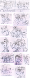 Commission Set 4 by Nintendrawer