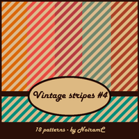 Vintage stripes #4 by NoiramC