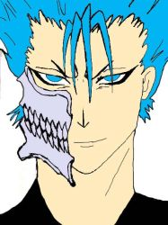grimmjow color by wintherqueen