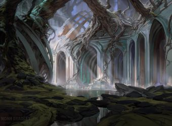 Dimir Swamp by noahbradley