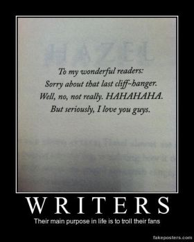 Percy Jackson Demotivational Writers by n-trace