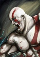 God of War- Kratos by magion02