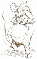 Daily Sketch: Teh Great Rat by Hunchy