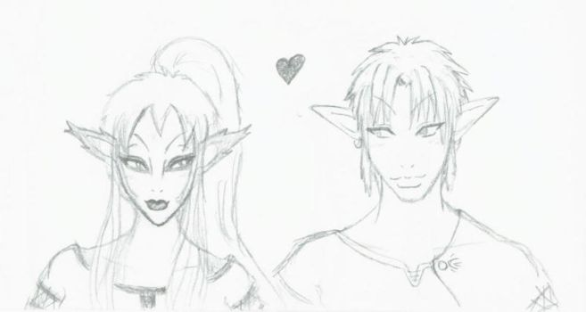 Twilight Princess Love by dusks-witch