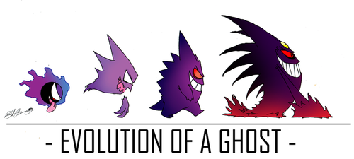 Evolution of a Ghost by theflamingalberto