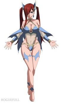 Erza Scarlet by RogueFull