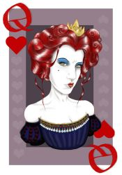 Red Queen Self Portrait by KaitlinTraver