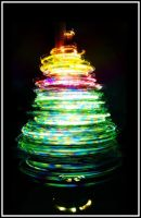 Christmas Tree of Lights by MikeMonaghanPhoto