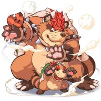 True Tanooki Bowser image by MasaBowser