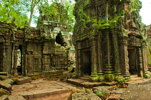 Angkor Wat Stock I by little-spacey