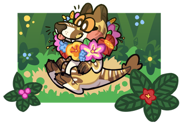 Too many flowers by hedgehominoid