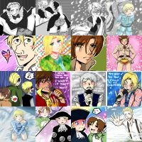 Hetalia Summer 2009 by K-haza